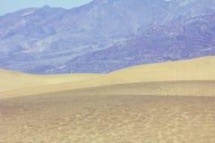 Death- Valleydünen Stockfotografie