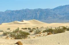 Death- ValleySanddünen, Kalifornien Stockfoto