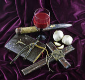 Death of a vampire Stock Photography