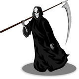 Death whith scythe Stock Image