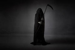 Free Death With Sickle Stock Photo - 72650990