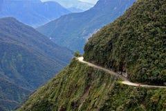 Deathroad bolivia Stock Photo
