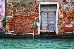 Deati-oldl Architektur in Venedig Lizenzfreies Stockbild
