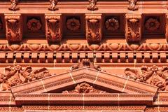 Deatil architettonico decorato Immagine Stock