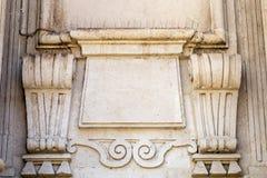 Deatil barock stil Royaltyfri Foto