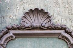 Deatil barock stil Arkivfoton