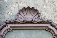 Deatil baroku styl Zdjęcia Stock