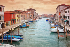 Deatil old architectureon  island  Murano in Venice Royalty Free Stock Images