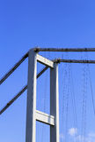 Deatils of Istanbul bridge. Stock Image
