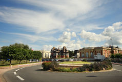 Deauville architecture France Royalty Free Stock Photography