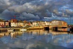 Deauville, França Fotografia de Stock Royalty Free