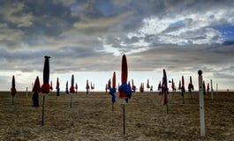 Deauville, França Foto de Stock Royalty Free