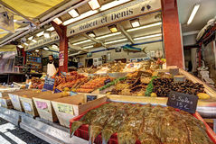 Deauville, France. City of Deauville, France, market in Trouville Stock Photos