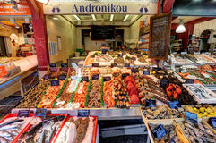 Deauville, France. City of Deauville, France, market in Trouville Stock Photography