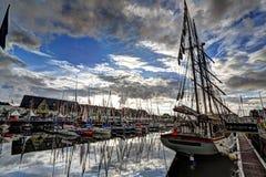 Deauville, Frankreich Stockfoto