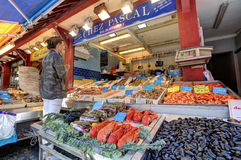 Deauville, Frankreich Stockfotografie