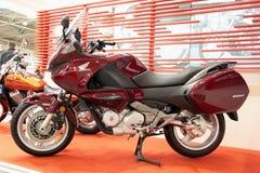 deauville honda motobike Arkivbild