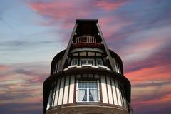 Deauville, région de Basse-Normandie dans des Frances du nord-ouest. Photographie stock libre de droits
