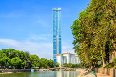 Deawoo hotel in Hanoi Royalty Free Stock Images
