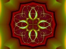 Debaixo da concha de tartaruga ilustração royalty free