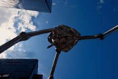 Debaixo de uma máquina de combate marciana, Woking, Surrey Imagens de Stock Royalty Free