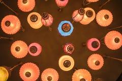 Debajo de la lámpara Imagen de archivo