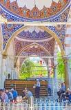 Debajo de las bóvedas de la mezquita de Muratpasa, Antalya Fotografía de archivo