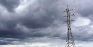 Debajo de las nubes eléctricas Fotografía de archivo libre de regalías