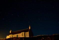 Debajo de los cielos estrellados Fotos de archivo