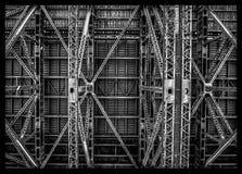 Debajo de Sydney Harbour Bridge Fotografía de archivo libre de regalías