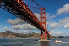 Debajo de un Golden Gate Fotografía de archivo