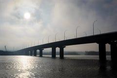 Debajo de un puente Imágenes de archivo libres de regalías