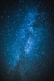 Debajo del cielo estrellado Fotografía de archivo