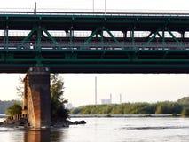 Debajo del puente Fotos de archivo