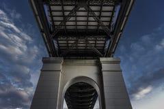 Debajo del puente Foto de archivo