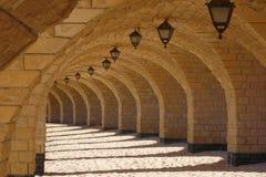 Debajo del puente en Egipto fotos de archivo libres de regalías