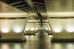 Debajo del puente Ponte de Sai Van Foto de archivo