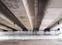Debajo del puente viejo Imágenes de archivo libres de regalías