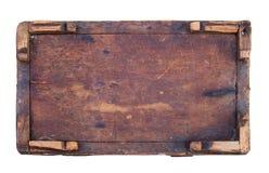 Debajo del rectángulo de madera Imagenes de archivo