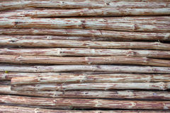Debarked Logs Background Royalty Free Stock Photo