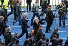 Debate presidencial ucraniano em Kyiv fotos de stock royalty free