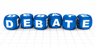 Debate Stock Image
