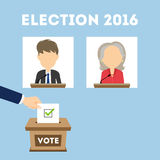 Debates on election. Stock Images