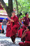 debatowanie michaelita Tibet Fotografia Royalty Free