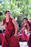 debatowanie michaelita Tibet Obrazy Royalty Free