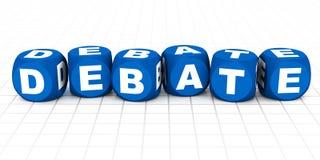 Debatte Stockbild