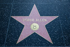 Debbie Allen Hollywood Star Royalty Free Stock Photography