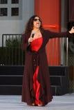 Debbie Allen, Michael Jackson Stock Image