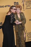 Debbie Reynolds & Carrie Fisher obraz royalty free