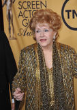 Debbie Reynolds. LOS ANGELES, CA - JANUARY 25, 2015: Debbie Reynolds at the 2015 Screen Actors Guild  Awards at the Shrine Auditorium Stock Image